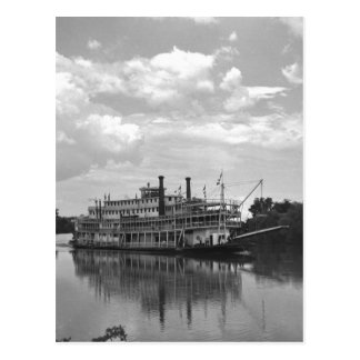 Cincinnati Excursion Steamer, 1942 Postcard