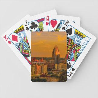 Cincinnati Golden Bicycle Playing Cards