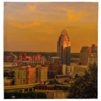 Cincinnati Golden Napkin
