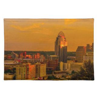 Cincinnati Golden Placemat