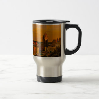 Cincinnati Golden Travel Mug
