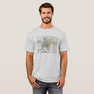 Cincinnati Historical Map T-Shirt