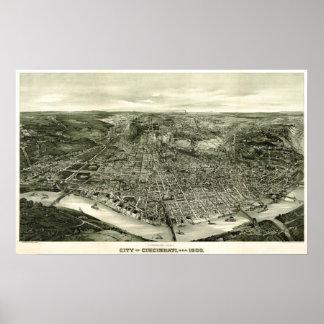 Cincinnati, Ohio 1900 Poster