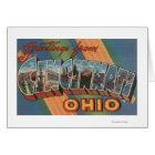 Cincinnati, Ohio - Large Letter Scenes 2 Card
