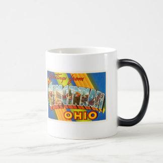 Cincinnati Ohio OH Old Vintage Travel Souvenir Magic Mug