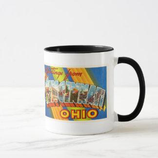 Cincinnati Ohio OH Old Vintage Travel Souvenir Mug