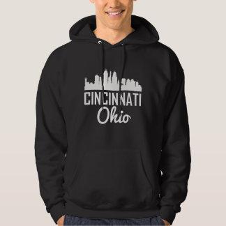 Cincinnati Ohio Skyline Hoodie