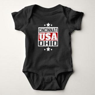 Cincinnati Ohio USA Baby Bodysuit