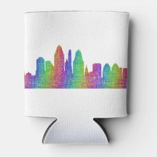 Cincinnati skyline can cooler