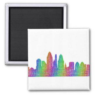 Cincinnati skyline magnet