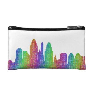 Cincinnati skyline makeup bag