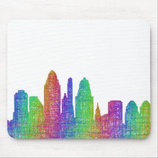 Cincinnati skyline mouse pad