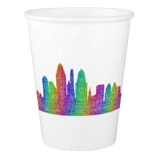 Cincinnati skyline paper cup