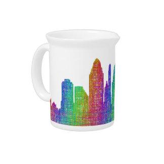 Cincinnati skyline pitcher
