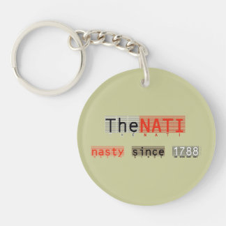 Cincinnati The NATI NAsty Since 1788 Keychain