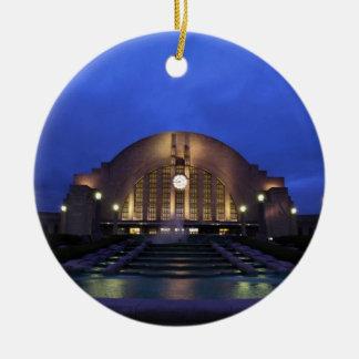 Cincinnati Union Terminal Ceramic Ornament