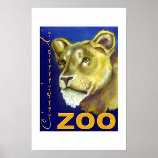 Cincinnati Zoo Poster