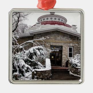 Cincinnati Zoo's Reptile House Metal Ornament