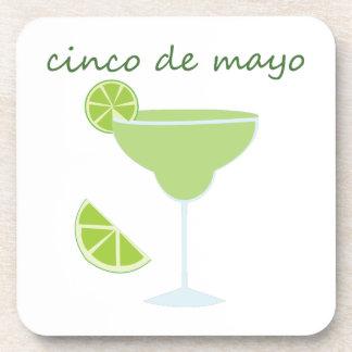 Cinco de Maya Margarita Drink Coasters