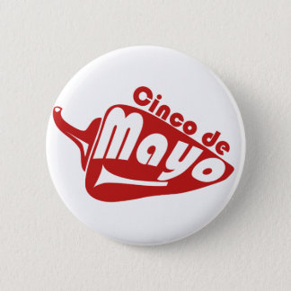 Cinco De Mayo 6 Cm Round Badge