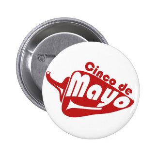 Cinco De Mayo 6 Cm Round Badge