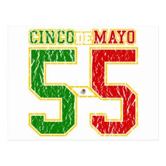 Cinco De Mayo Athletic Dept Postcard