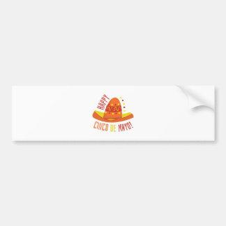 Cinco De Mayo Bumper Sticker