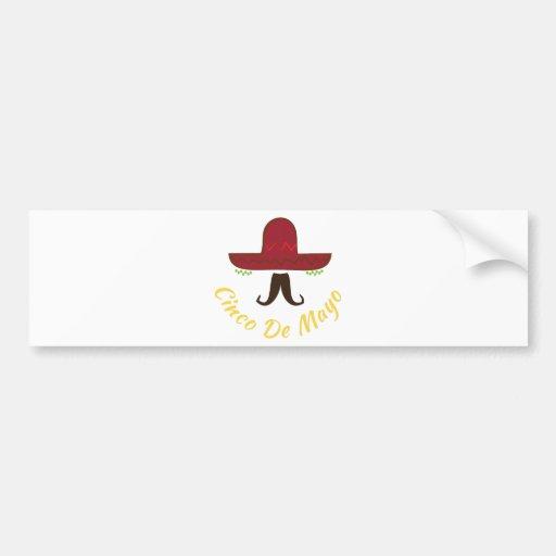 Cinco de Mayo Bumper Stickers