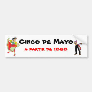 Cinco de Mayo Bumper Sticker