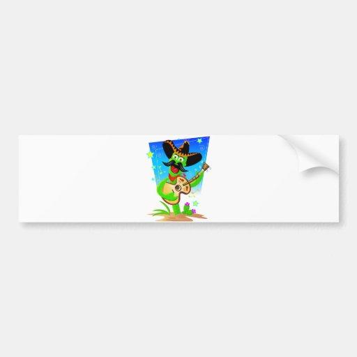 Cinco De Mayo Cactus Bumper Sticker