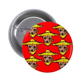 Cinco De Mayo Chihauhaus 6 Cm Round Badge