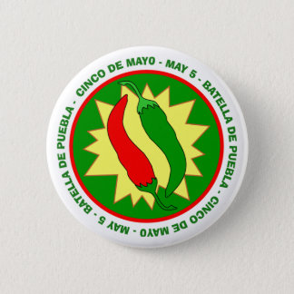 Cinco de Mayo Chili Peppers Badge