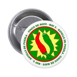 Cinco de Mayo Chili Peppers Badge