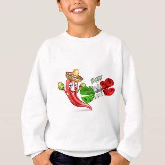 Cinco De Mayo Chilli Pepper Poster Design Sweatshirt