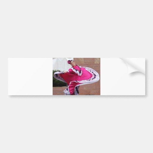 Cinco De Mayo Dancer Bumper Stickers