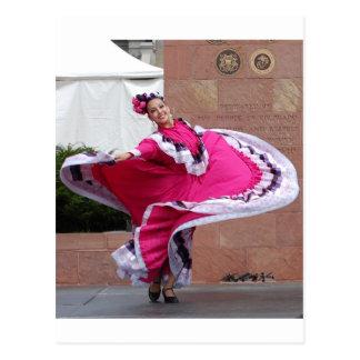 Cinco De Mayo Dancer Postcard