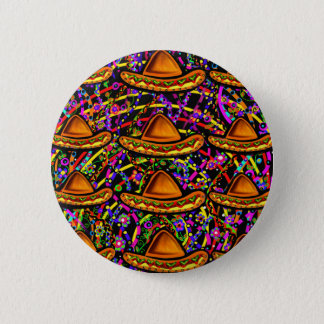 Cinco de Mayo Design 6 Cm Round Badge