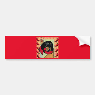 CINCO DE MAYO DOXIE BUMPER STICKER