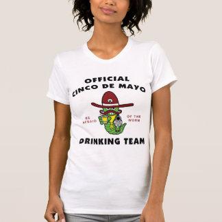 Cinco de Mayo Drinking Team Ladies Tshirts