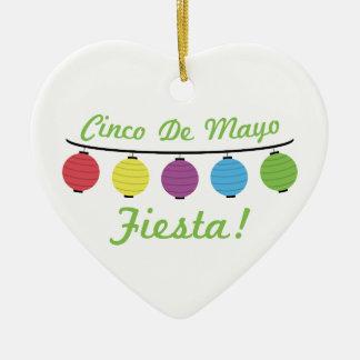 Cinco De Mayo Fiesta! Ceramic Ornament