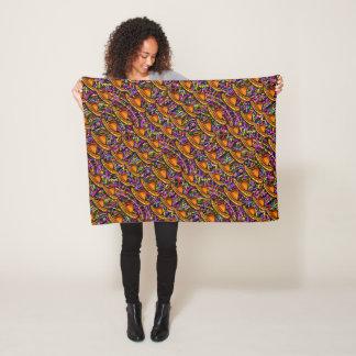 Cinco de Mayo Fleece Blanket