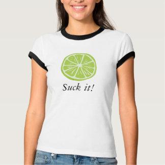 Cinco de Mayo Lime Suck It! T-Shirt