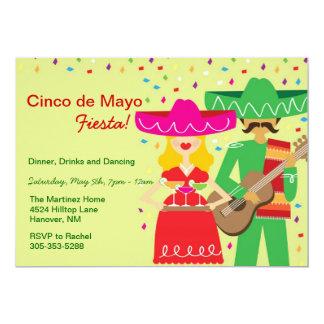 Cinco de Mayo Mariachi Invitations