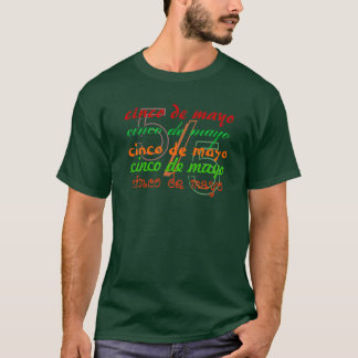 Cinco De Mayo Mexico Design T-Shirt