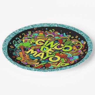 Cinco de Mayo Party Goods Plates