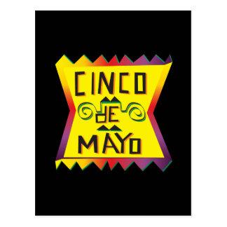 Cinco De Mayo Post Card