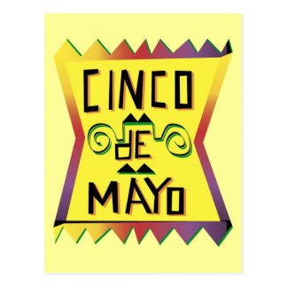 Cinco de Mayo Postcard