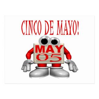 Cinco De Mayo Postcard