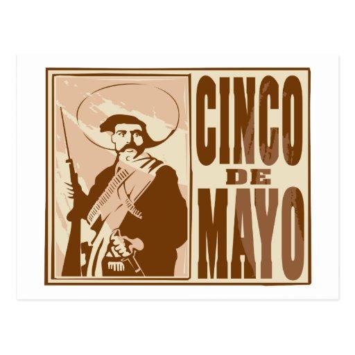 Cinco De Mayo Postcards