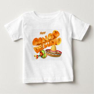 Cinco De Mayo Sign Baby T-Shirt